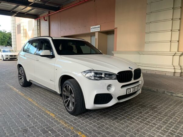 bmw hire cape town