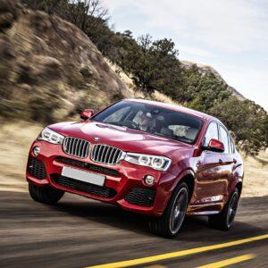 BMW X4 rental