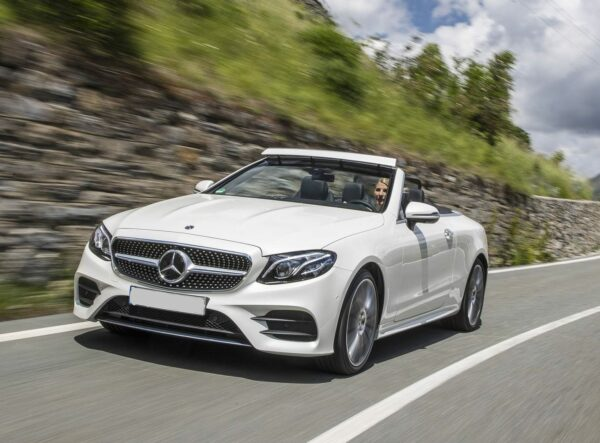 eclass cabriolet for hire